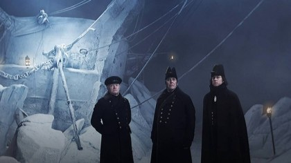 THE TERROR, AMC, CAST, HORROR, TV SHOW, CIARAN HINDS, JARED HARRIS, TOBIAS MENZIES
