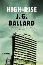 HIGH RISE, JG BALLARD, BOOK COVER, RETROFUTURISM