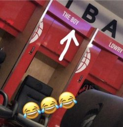 DRAKE, TORONTO RAPTORS LOCKER ROOM