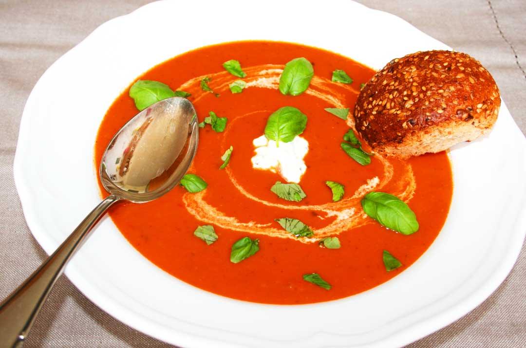 Darjas Rezepte Tomatensuppe