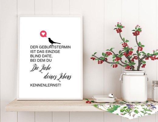 """Kunstdruck """"Die Liebe deines Lebens"""". Anzeigenbild"""
