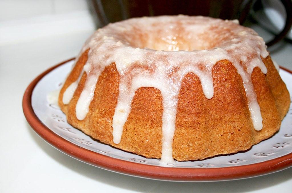 Foto vom glasierten Kuchen