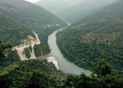 Teesta River Valley Kalimpong
