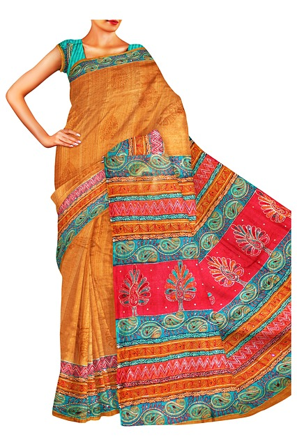 cotton mixed sarees