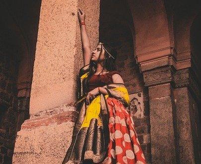 simple saree blouse
