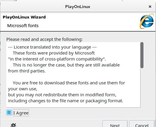 How to Install Internet Explorer 8 on Linux using PlayOnLinux