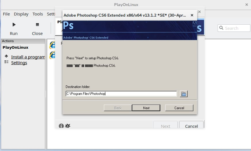 How to install adobe photoshop cs6 in linux ubuntu 1604 just how to install adobe photoshop cs6 in linux ubuntu 1604 just another sharing site ccuart Choice Image