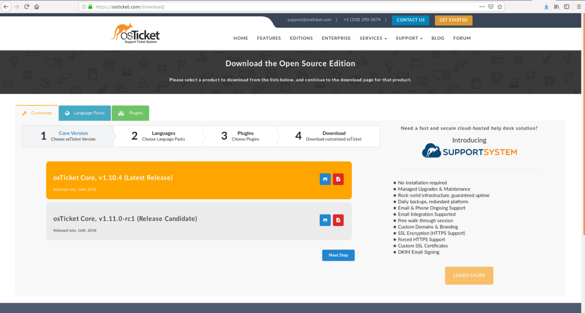 How to Install osTicket in Linux Ubuntu 18.04 Bionic Beaver