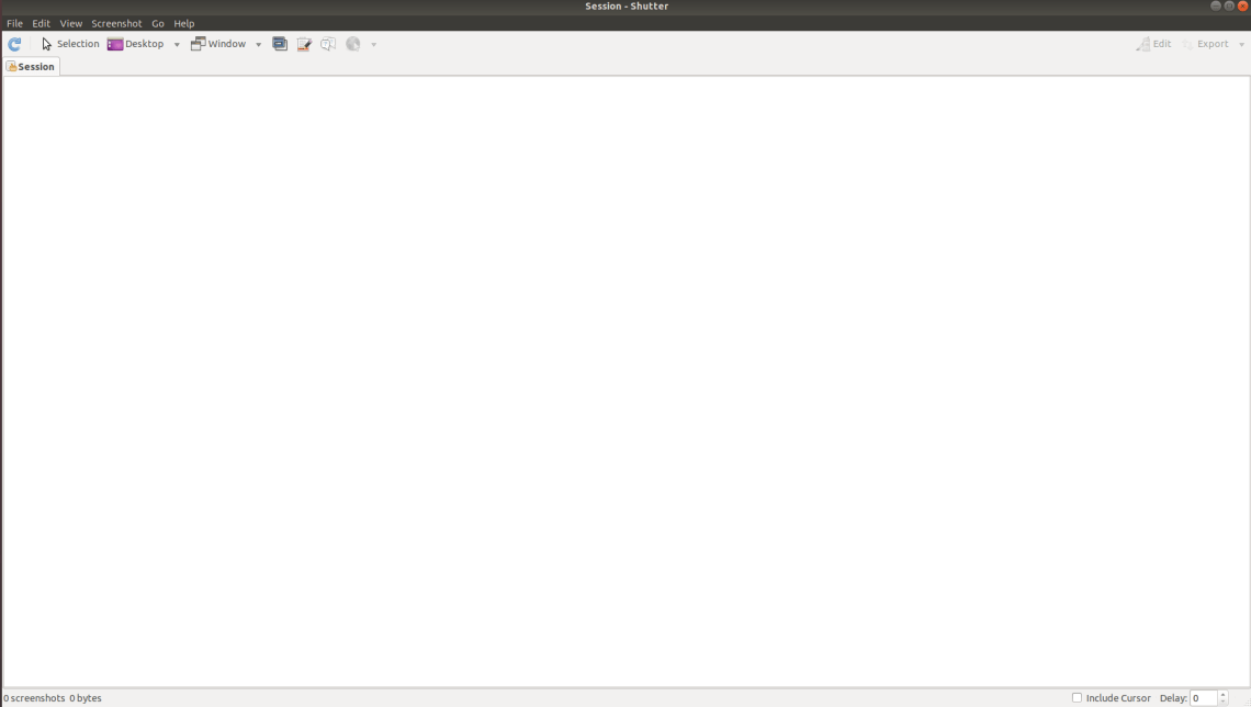 How to Install Shutter in Linux Ubuntu 18.04 Bionic Beaver