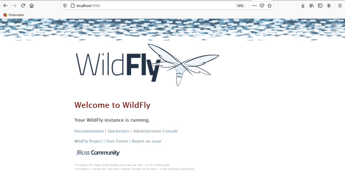How to Install Wildfly in virtual server running in VirtualBox Application using CentOS 8