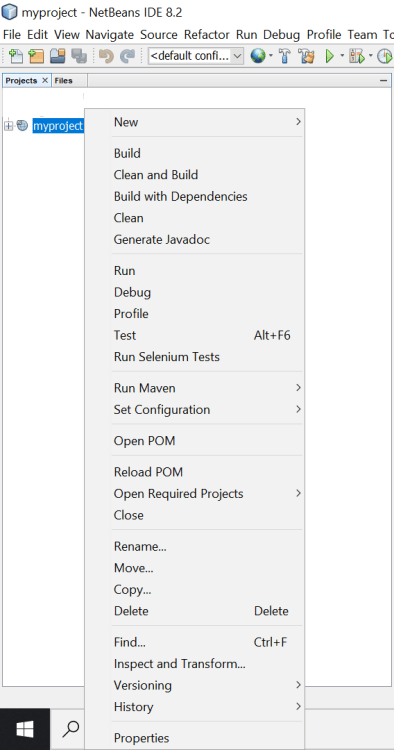 How to Create a New Web Application Project using NetBeans IDE and Deploy it to Wildfly Application Server