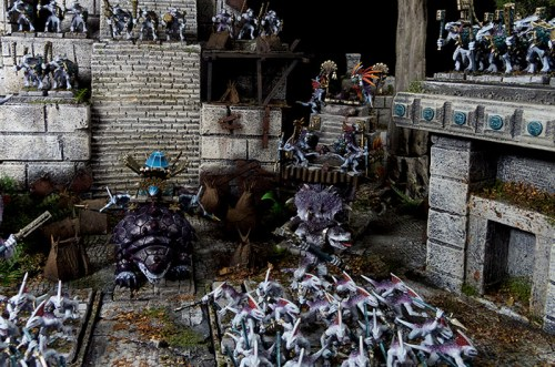 Skaven encampment and modifications