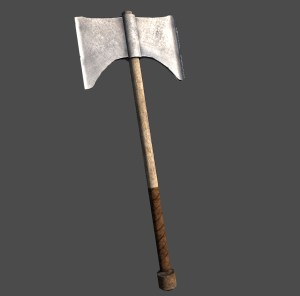 Iron Battle-Axe