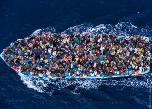 Photo originally taken by Massimo Sestini. Lifted from Amnesty International's report—click to open.