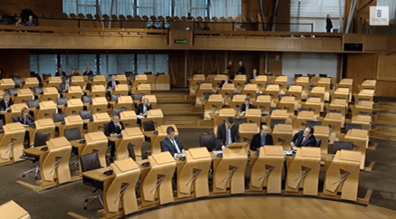Very few people in parliament