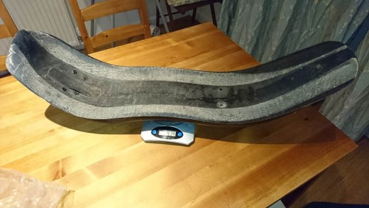 Metabike seat on the scales