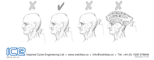 Various headrest positions