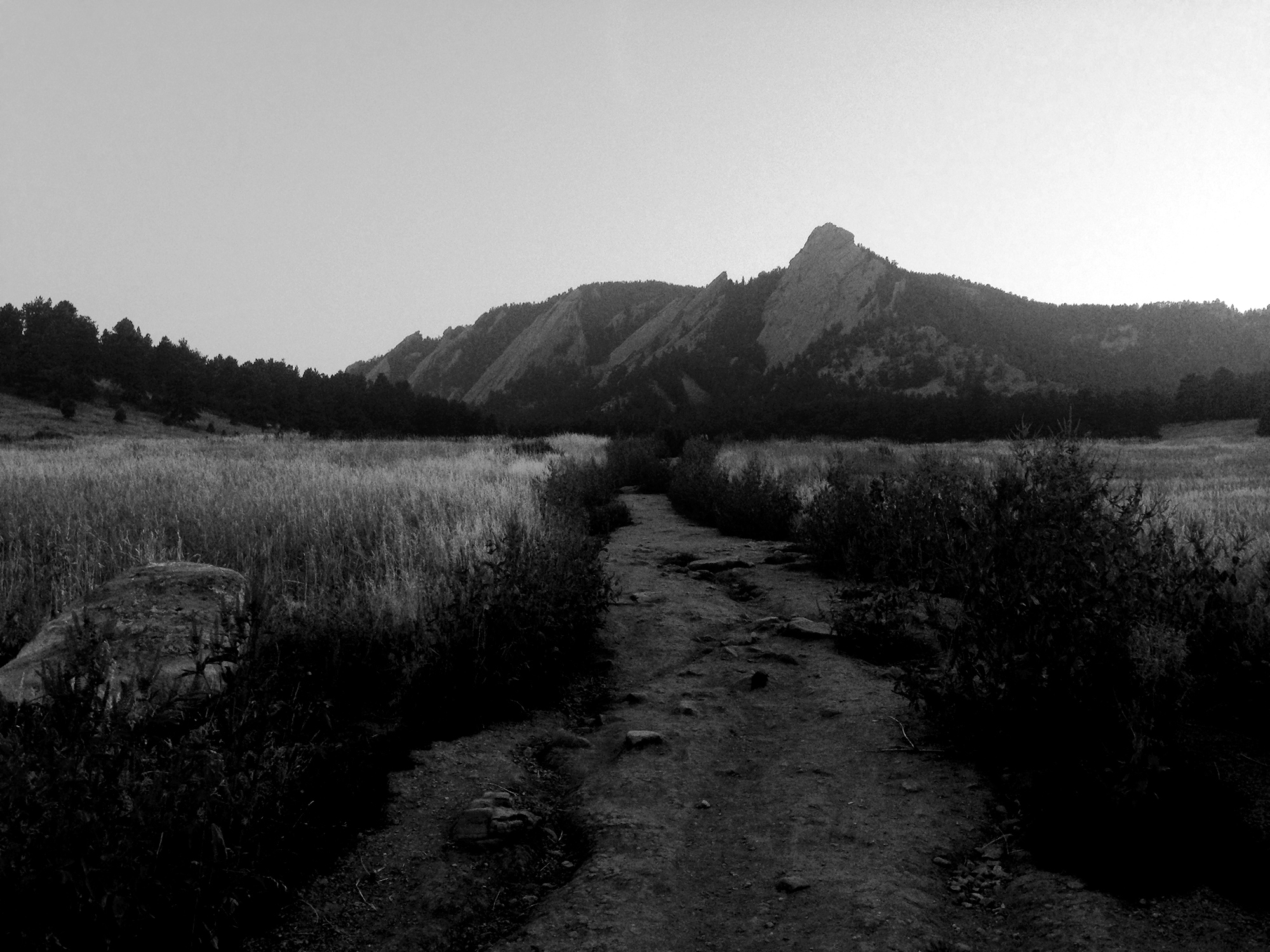 Flatirons at Chautaqua, Boulder CO