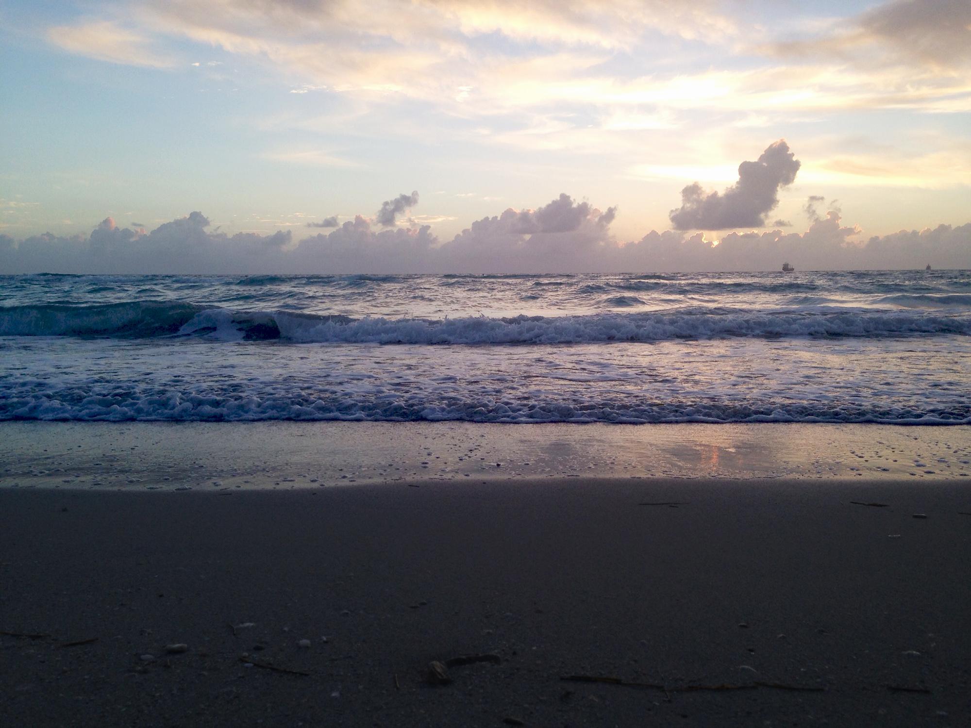 South Beach, Miami Florida / Darker than Green