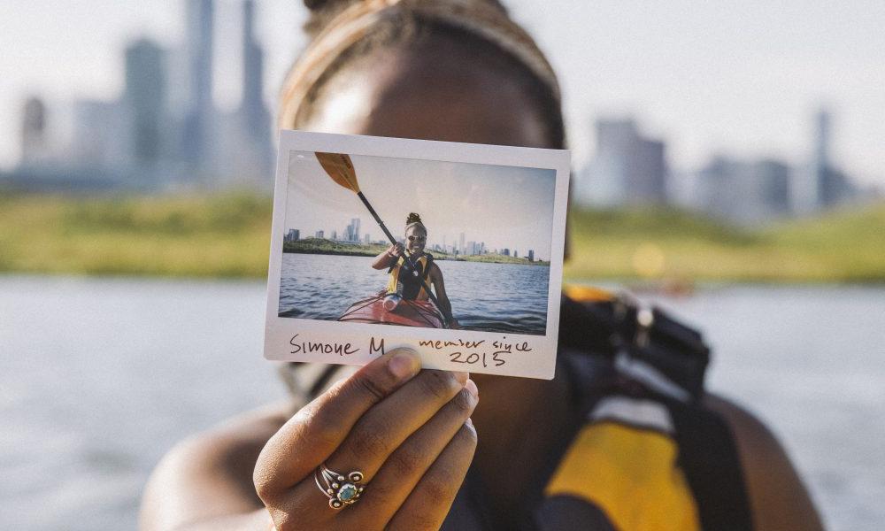 Simone Martin-Newberry, REI member / Photo courtesy of REI