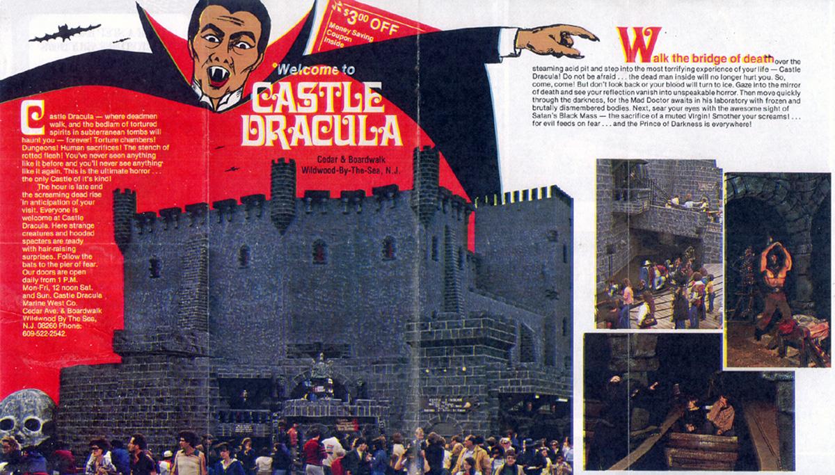 Castle Dracula brochure