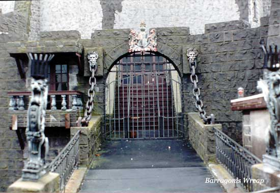 Castle Dracula drawbridge