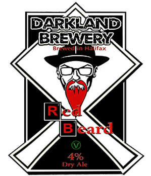 Darkland Brewery Red Beard Pumpclip