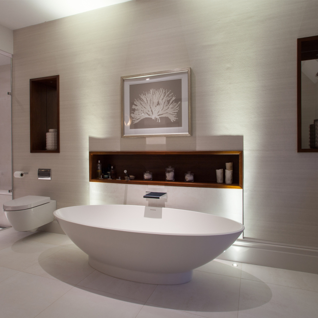 how to get the perfect spa bathroom