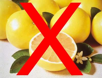 Just say no to grapefruit