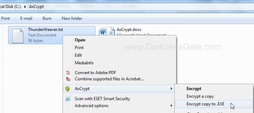 AxCrypt – DarknessGate com