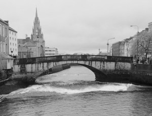 Holy Trinity Church and the River Lee, Cork