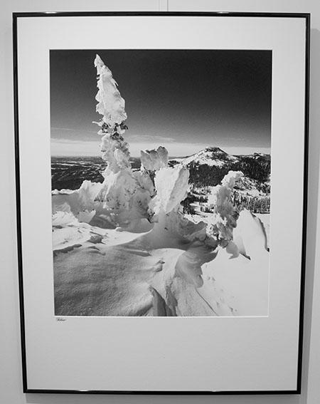 Wolf Creek View, framed