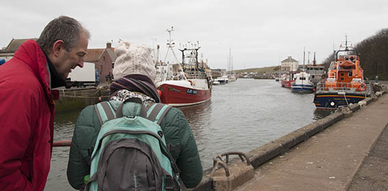 Eyemouth Harbour, Jo and Dave Butcher #2