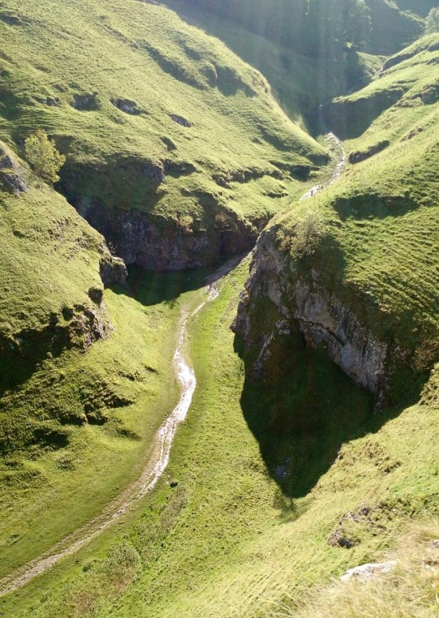 Cave Dale from Above