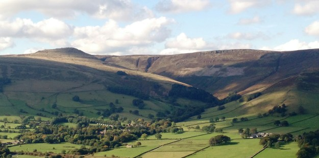 Kinderscout and Edale from Hollins Cross