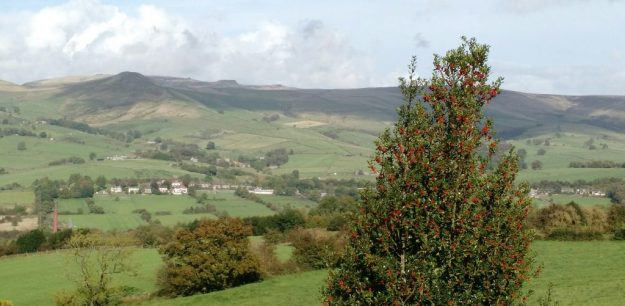 South Head and Kinderscout from Lydgate