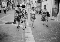 Ladies fashion, Valletta, Darkroom Malta, 35mm Film, Black and White