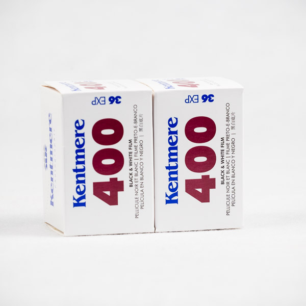 Kentmere 400 2 roll pack