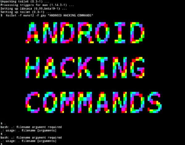 Termux Most Hacking Commands - Hacking With Android Phone