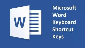 Microsoft Excel keyboard Shortcut keys List With Description