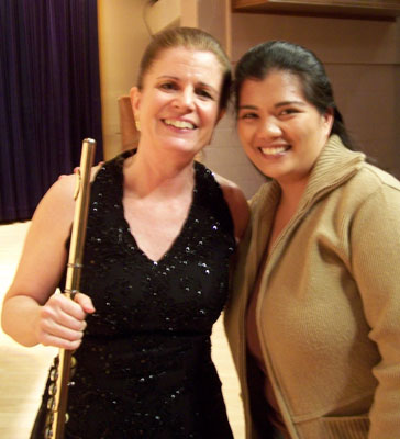Fluteprayer and darleene