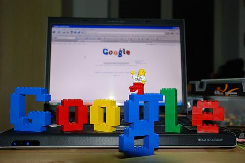 Google in Lego