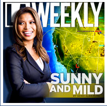 Elita Loresca on the cover of L.A. Weekly