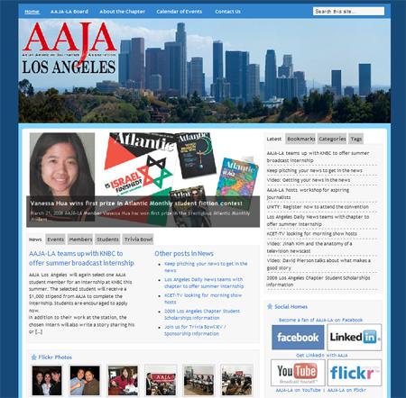 AAJA-LA's redesign