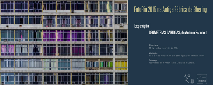 Convite Digital FotoRio 2015 — Exposição de Antonio Schubert