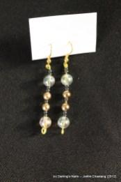 Boucles d'oreilles perles la paire 6€