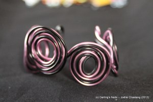 Bracelet plat multispirales prix : 15 €