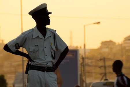 Understaffed and without weapons, police are closing up shop at dusk for their own safety. Photo: Daniel Hayduk