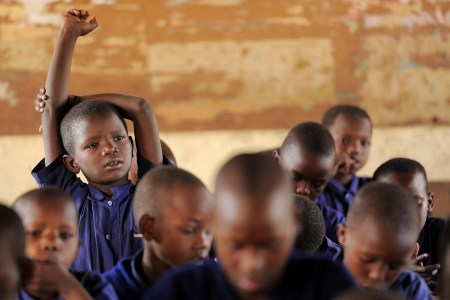 Goodbye English, karibu Kiswahili. Tanzania plans to drop English as language of instruction at all levels, a move which some say spells trouble. Photo: Daniel Hayduk