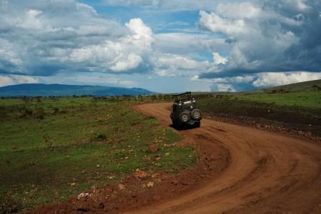 A Tanzanian safari vehicle in Serengeti National Park. Photo: Daniel Hayduk